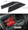 Tela de navegação do carro não-slip mat r projeto pad para volvo s60 v60 xc90 xc60 pad titular de telefone celular acessórios interiores