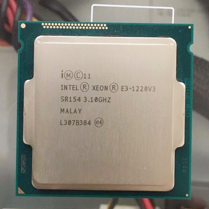 Intel Xeon E3 1220 V3 3 1GHz 8MB 4 Core SR154 LGA1150 CPU Processor E3 1220
