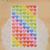 6 גיליונות מדבקת יומן מתכנן צבעוני קשת לב כוכב קישוט יומן Scrapbook אלבום צעצועים לילדים
