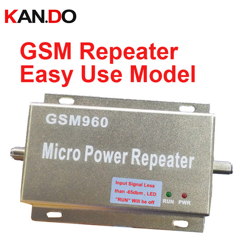 New Model 960 Easy Use Model GSM Repeater GSM Booster 20dbm Power Phone Booster Repeater GSM Repeater Booster
