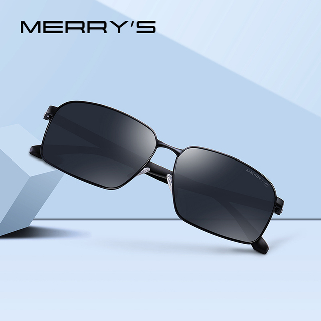 031c50326d MERRYS diseño hombres clásico gafas de sol deportes al aire libre gafas de  sol polarizadas para conducir pesca TR90 piernas UV400 protección S8060