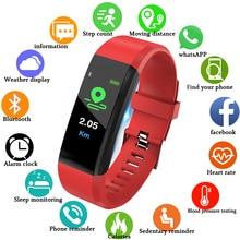Купить с кэшбэком Smart Watch Men Heart Rate Blood Pressure Monitor Fitness Tracker Smart Bracelet Waterproof Sports Watch Information Reminder