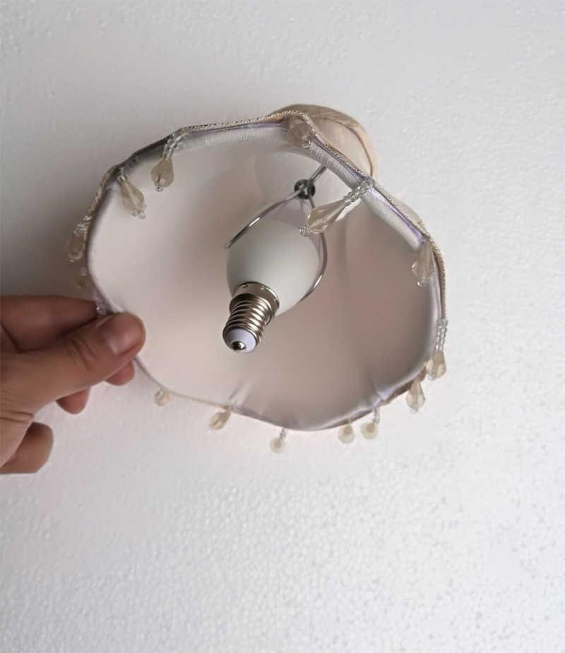 Kain Kap Lampu Costomized Lampu Bagian Aksesoris atau Kompensasi Perbedaan Harga untuk Lampu Gantung Lampu Warna Cover