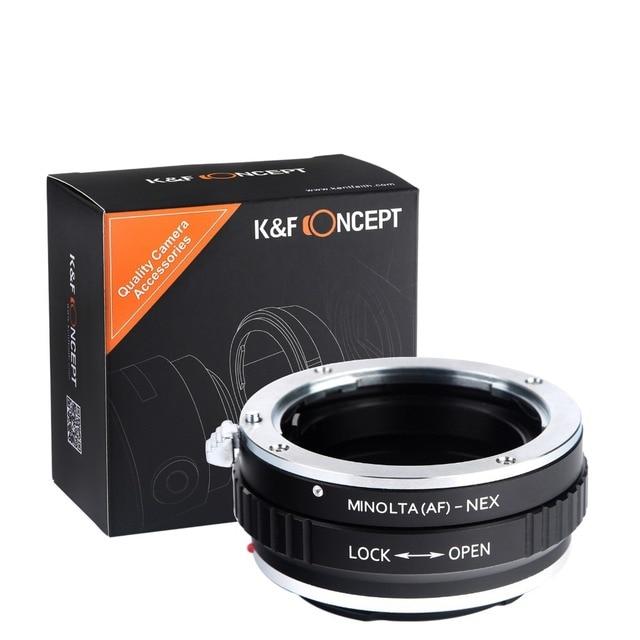 Lens Mount Adapter For Sony Alpha Minolta AF to NEX E NEX3 NEX5 NEX6 NEX7 A6300 A6000 A5000 A5100 MA-NEX AF-NEX DSLR Cameras