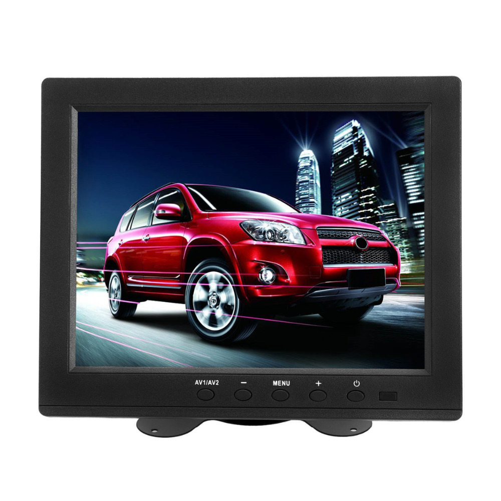 Wearson 8 inch LCD Monitor Screen 4:3 1024x768 with VGA/HDMI/BNC/AV Function For Car DSLR & PC & DVD & Car Backup Camera zgynk 10 1 inch open frame industrial monitor metal monitor with vga av bnc hdmi monitor