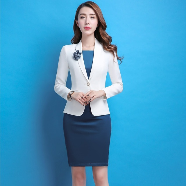 Formal Professional Business Work Wear Blazers Suits With Jackets