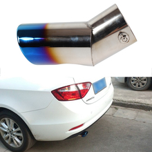 Car Tail Pipe Stainless Steel Exhaust Pipes Automobile Exhaust Header