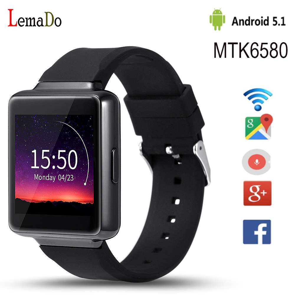 Phone Android Phones Rating cpu rating promotion shop for promotional on aliexpress com lemado k1 android 5 1 os smart watch phone with mtk6580 5128gb support 3g wifi mp3 bluetooth ios phone