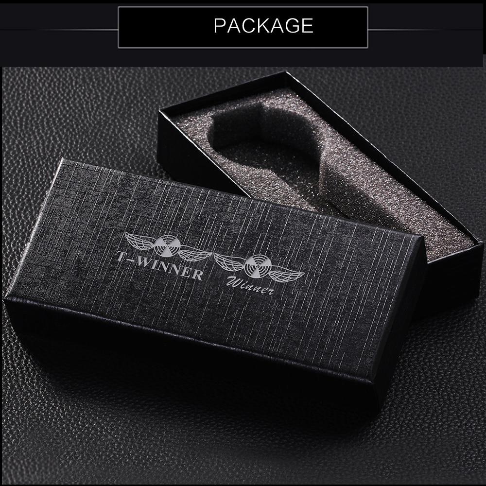 HTB169OIajnuK1RkSmFPq6AuzFXaV WINNER Golden Watches Men Skeleton Mechanical Watch Stainless Steel Strap Top Brand Luxury T-WINNER Classic Wristwatch 17 COLORs