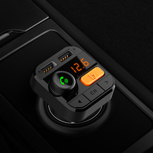 CDEN FM transmitter car MP3 player 5.0 Bluetooth U disk lossless music stereo EQ sound effect Car Kit USB charger