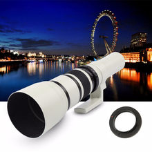 White500mm F/6.3 Telephoto Fixed Prime Telephoto Lens Adapter Ring For Nikon SLR(China)