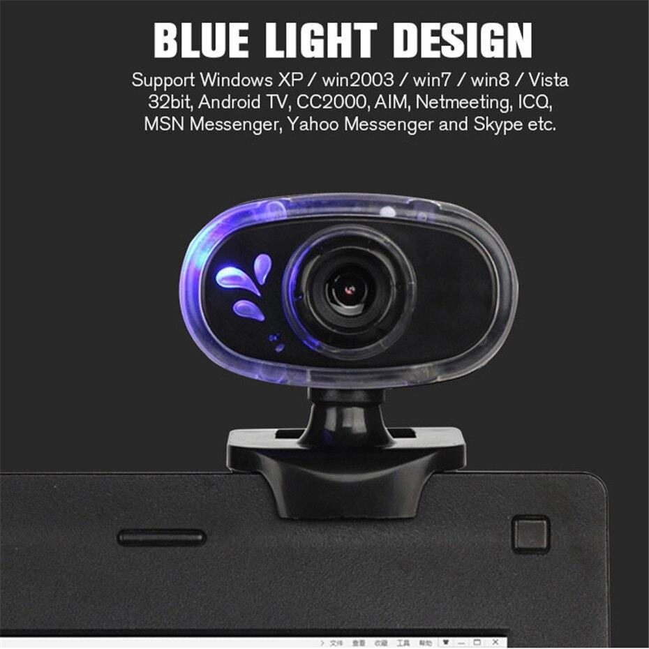 Basix 360 Degree Rotation USB Webcam HD Web Camera8
