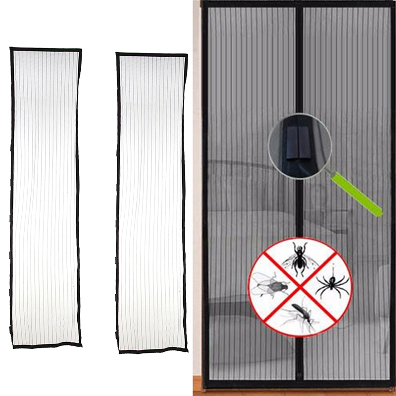 Hot Sale 1set 210*100 cm Door Mosquito Net Mesh Mosquito Net Insect Screen Flyscreen