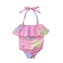 d2607030cb788 hirigin Toddler Baby Girl One-Piece Swimsuit 2018 Kids Rainbow Swimwear  Bikini