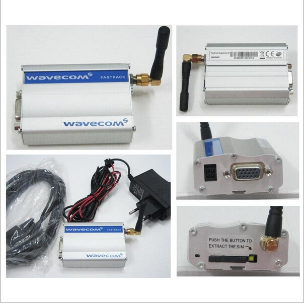gsm modem rs232 at command based on wavecom q24plus module universal use modem gsm lte modem simcom modules sim7100 for sms marketing data transfer at command 4g modem