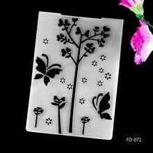 2017 New Arrival Scrapbook Butterflies Design DIY Paper Cutting Dies Scrapbooking Plastic Embossing Folder