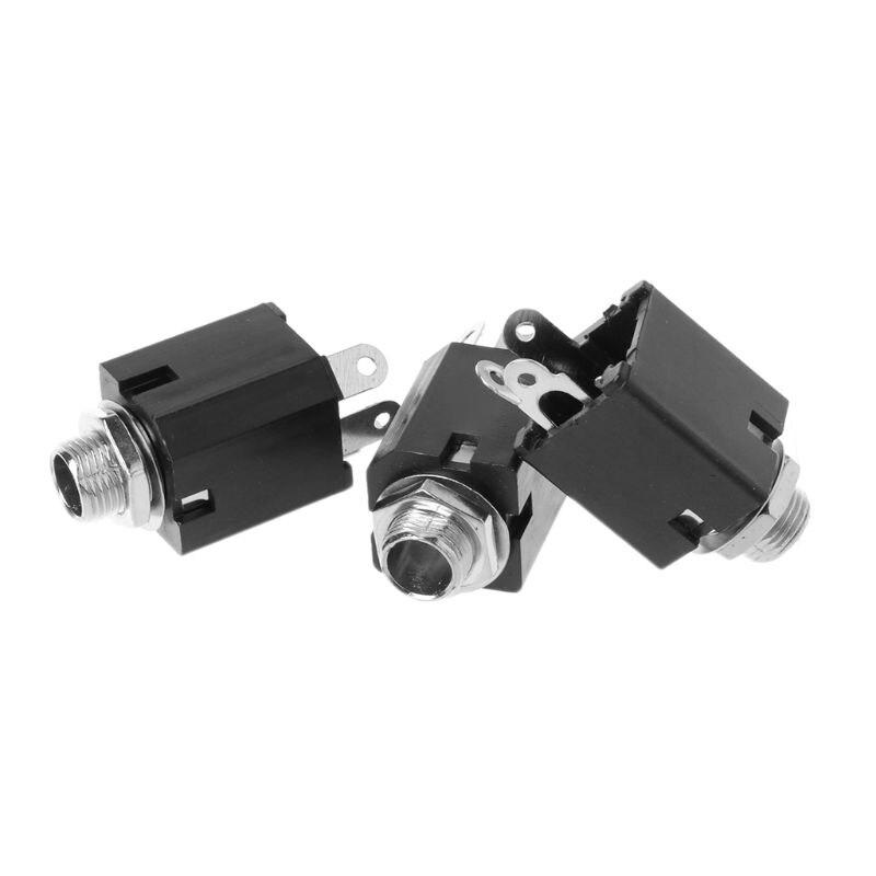3 pcs 3.5mm 1/8 Stéréo Plug RRT Femelle À 4 Vis AV Bornier Connecteur