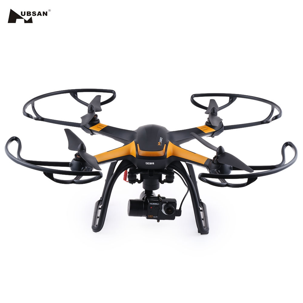 Hubsan H109S X4 PRO RC Drone 5.8G FPV 1080P HD Camera GPS 7CH RC Helicopter High Edition Quadcopter with 3-axis Brushless Gimbal yuneec typhoon h 5 8g fpv drone with realsense module cgo3 4k camera 3 axis gimbal 7 inch touchscreen rc hexacopter rtf
