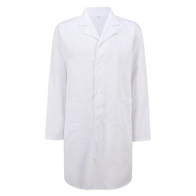 Tienda Online Bata de laboratorio de hospital unisex de gran tamaño ...