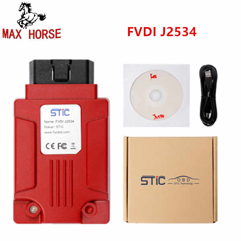Detail Feedback Questions about 2018 Newest FVDI J2534 for vcm for