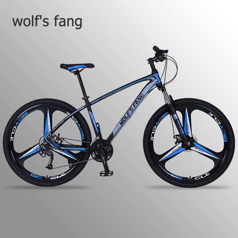 wolf s fang bicycle mountain bike 29 road bikes 27 speed Aluminum alloy Frame size 17