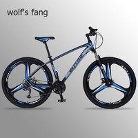 wolf's fang bicycle bicicletas mountain bike 29 road bike 27 epd Frame size 17 inch Mechanical Disc Brake
