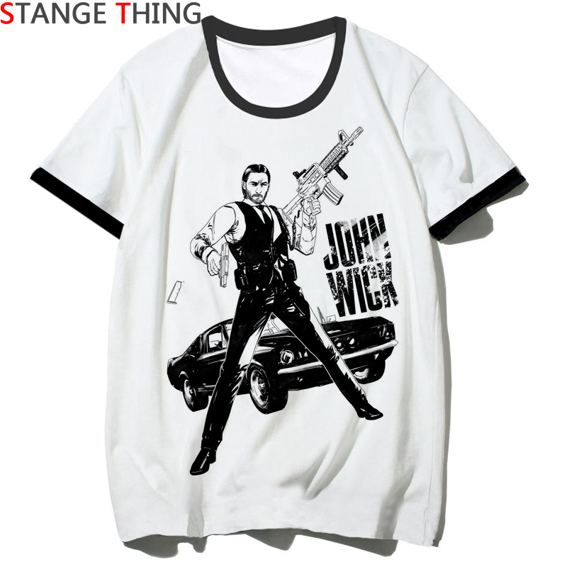 New John Wick 3 Tshirt Men/women Movie Hip Hop T Shirt Be Kind To Animal Or I'll Kill You T-shirt Streetwear Top Tee Male/female