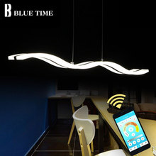 38W TOP Modern Led Pendant Light Hanging lamp Ceiling Lamp Fixtures Acrylic LED For Living room Dining Kitchen