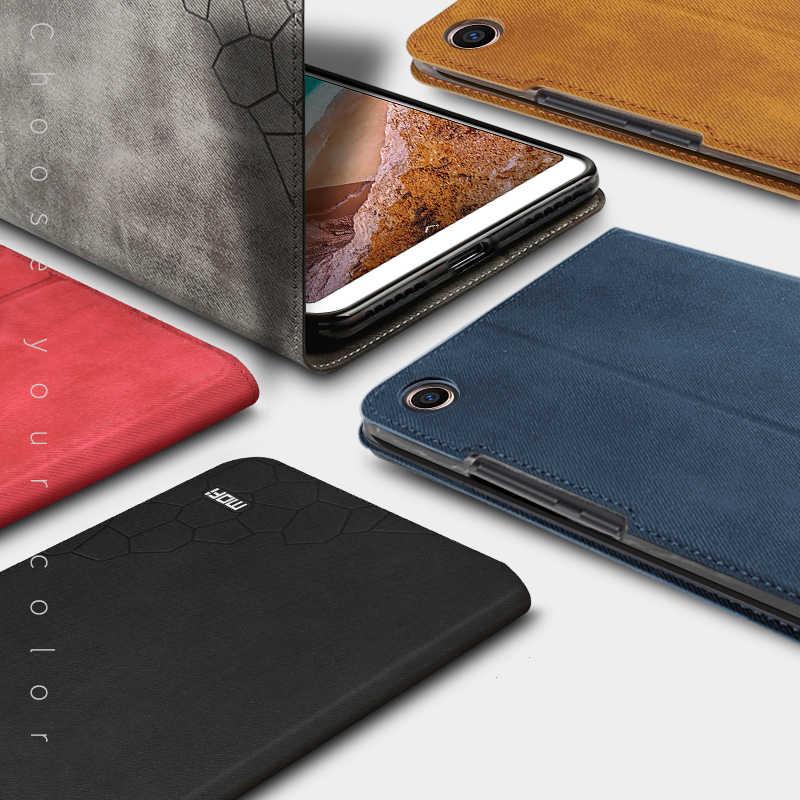 Чехол Mofi для Xiao mi Pad 4 mi Pad 4 защитный чехол из искусственной кожи планшет настольный компьютер для mi Pad4 mi pad4 откидная крышка-подставка 8,0