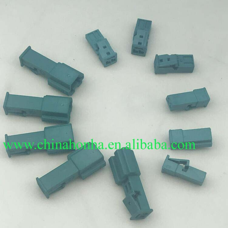 Free shipping 5/10/<font><b>20</b></font>/50 <font><b>pcs</b></font>/lots 2 Pin Male and Female Door lights High-pitched Speaker Plug Stereo Electric Connector image