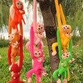 Обезьяны животных обезьяна игрушки детские pet плюшевые игрушки подарок на день рождения Электронные Домашние Животные дети детские Рождественские подарки