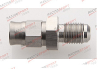 Stainless steel Male 4 AN 4AN AN4 Flare To M10 x 1.0 Metric Straight Fitting