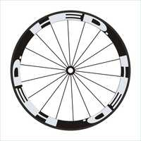 12pics/set HED 4Colors Wheel Sticker Road Bike 700c Wheel Stickers Wheel Rime Decorative Stickers Bike Decals Wheel Stickers