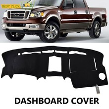 Xukey Dashboard Cover Dash Mat Dash Mat untuk Ford F150 F-150 Truk 2004-2008 Dash Board Cover Pad Sun Shade karpet(China)