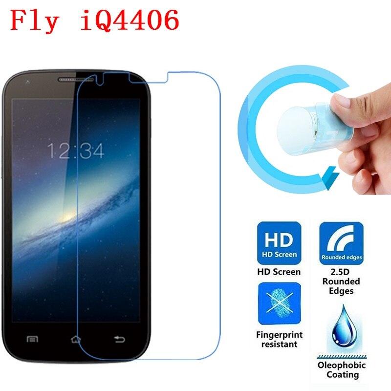 Fly IQ4406 Screen Film, 2.5D Ultra-Thin HD Clear Soft Pet Screen Protector Film for Fly IQ 4406 ERA Nano 6