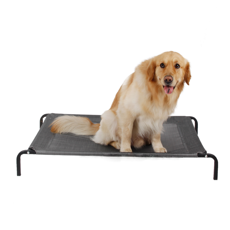 Domestic Delivery Pet Bed Carrying Capacity Strong Breathable In Summer Metal Frame Bed Dog Cat Sofa Kennels High Quality
