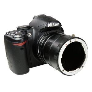Image 5 - מתאם עדשת טבעת tube הארכת מאקרו עבור nikon dslr d7100 d7000 D7200 D750 D500 D610 D810 D800 D700 D90 D3200 D5200 D5100 D600