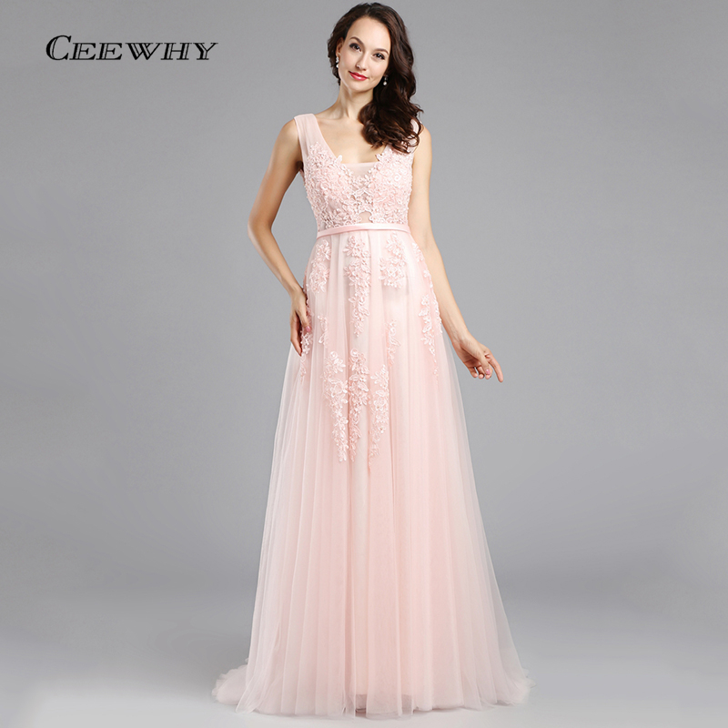 Long Pink Dresses Promotion-Shop for Promotional Long Pink Dresses ...