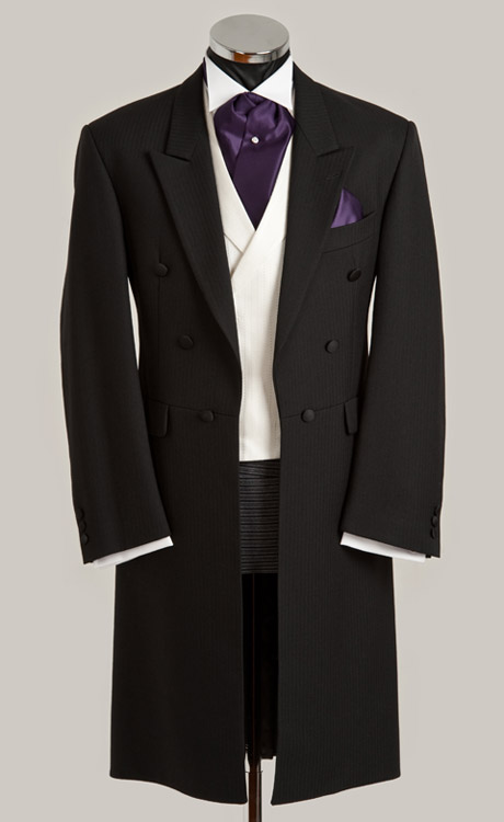 Фрак Стиль мужские костюмы Groomsmen Пик нагрудные смокинг для жениха двубортный Свадебный Лучший мужской костюм (куртка + брюки + жилет) A33