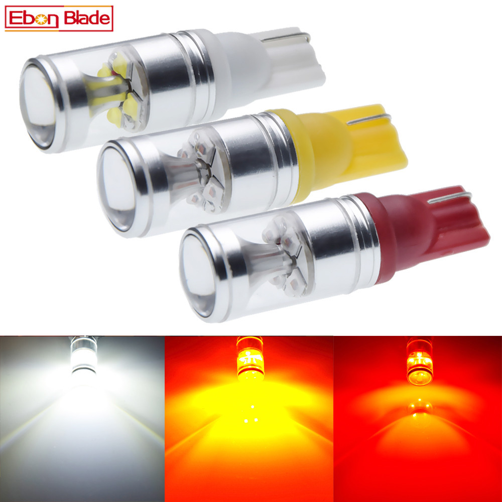 2x T10 W5W 920 912 921 High Power 30W Extreme Bright Cree XBD Chips LED Bulbs For Car Parking Backup Reverse Light Lamp 12V 24V-in Signal Lamp from Automobiles & Motorcycles