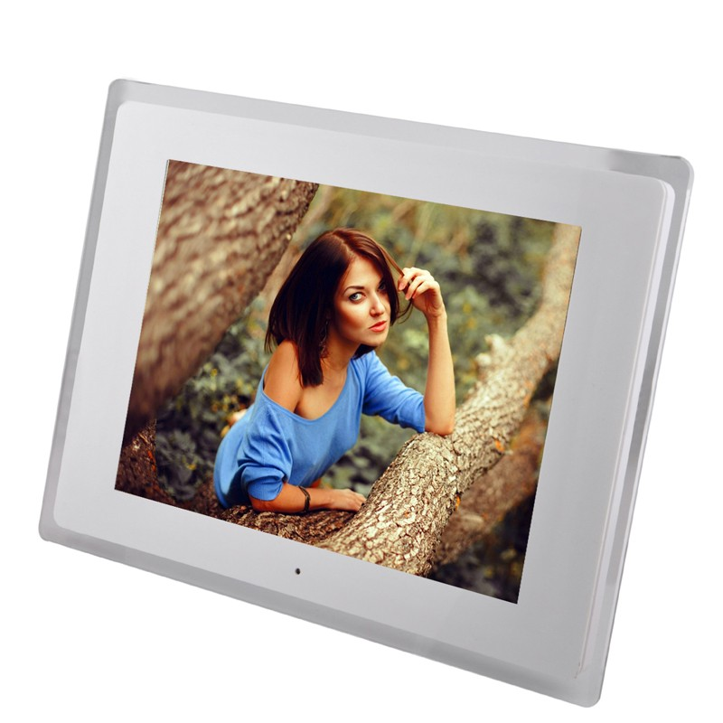 New 12 inch LCD Multifunctional Picture Digital Photo Frame with MP3/MP4 Player with high quality fixmee 50pcs white plastic invisible wall mount photo picture frame nail hook hanger