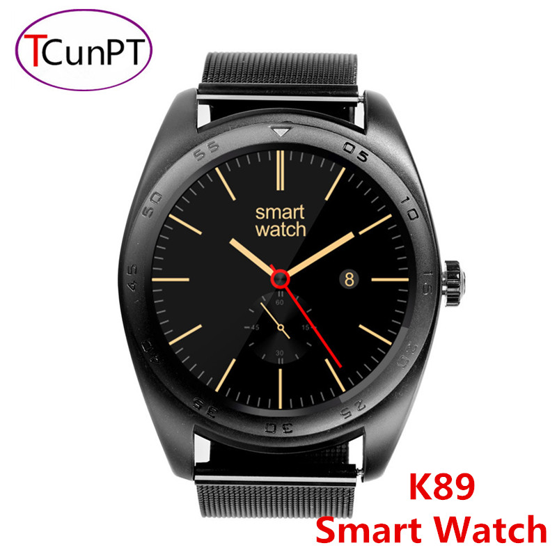 New Fashion K89 Smart Watch Heart Rate Monitoring Bluetooth phone Smart Watch Support IOS Android APP
