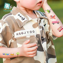 Cars Trucks Vehicle Waterproof Water-transfer Sticker Waterproof Safety Boys Tamporary tatoo for kids 10 Pcs/Set(lots) 2 pcs flexible pvc battery terminal covers positive negative insulation boots protector automobile for cars boats and trucks