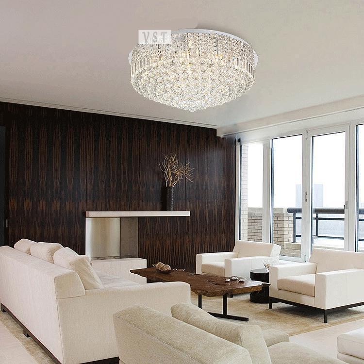 Aliexpress K9 Kristall Lampe Wohnzimmer Deckenleuchte Moderne Minimalistische Dekor 100 Qualittsgarantie Schlafzimmer Halle Von