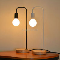 Modern and Fashion Wood and Metal Table Lamps for Office Desk Bedroom Lampe Deco Bedside Lamp Modern Study Room Lampshades