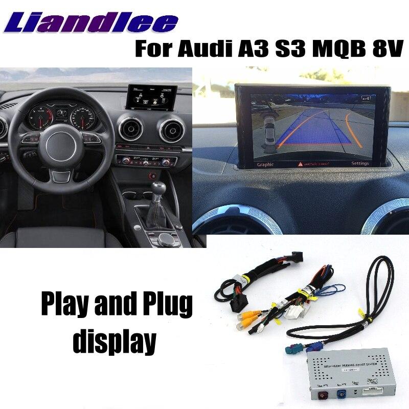 Liandlee парковка Камера Интерфейс Обратный Резервное копирование парк Камера Наборы для Audi A3 S3 MQB 8 В MMI оригинальный Дисплей обновлен