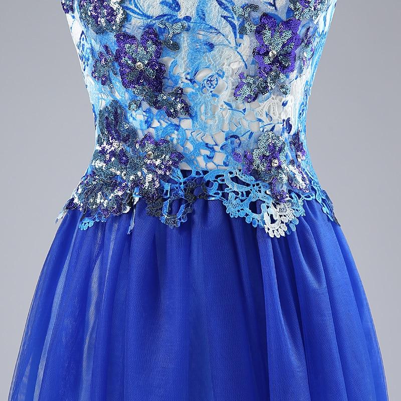 0a6e521578 W rozmiarze zdjęcie 2--4-6-8-10-12-14-16 niebieski haft długie suknie  gwiazd drukowane kwiaty red carpet sukienki