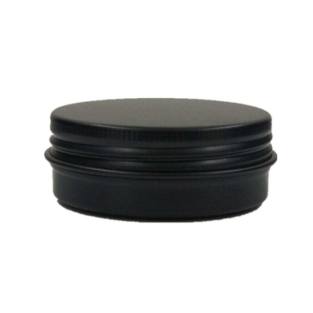 30 г/1 унций/30 мл алюминиевых банок/банок с винтовой резьбой, металлическая упаковка, контейнер - Цвет: black