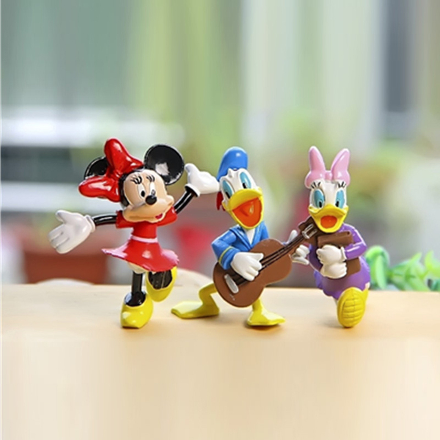 Disney Mickey Mouse Clubhouse Action Figures 8cm 6pcs/Set