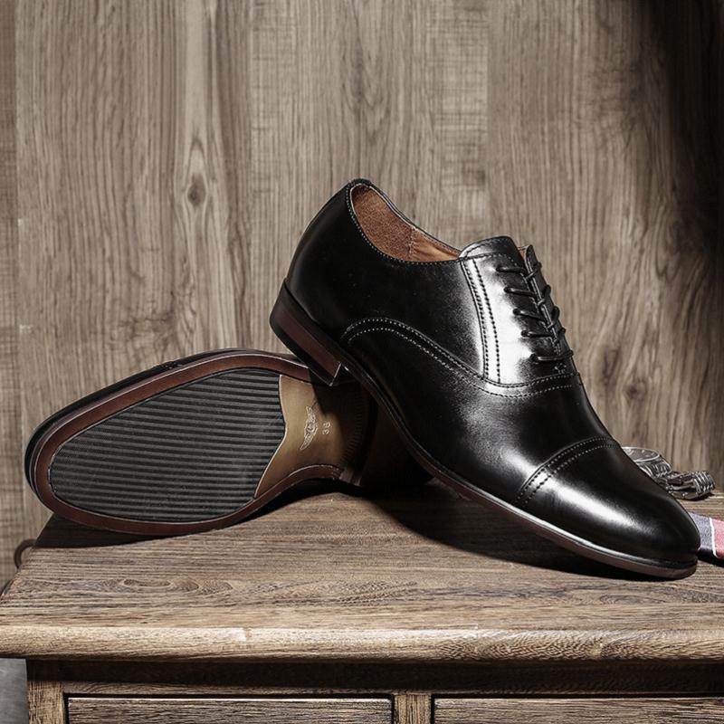Marca Primavera Preto Preto Negócios Sapatos marrom Homem Mycolen Vestido Noiva Superior De Clássico Homens Couro Chegada outono Qualidade Nova Oxfords zCqCRWw7